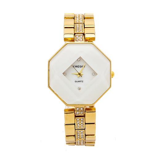 Đồng hồ nữ KINGSKY dây thép K018