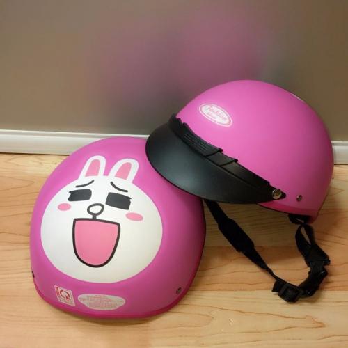 Nón Bảo Hiểm Thỏ Cony