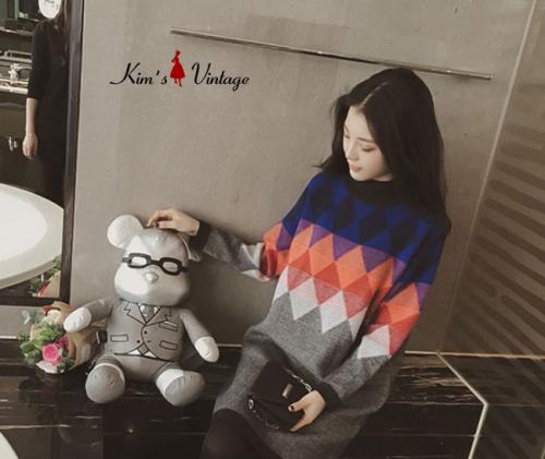 Áo len Quảng Châu cao cấp Kim's Vintage