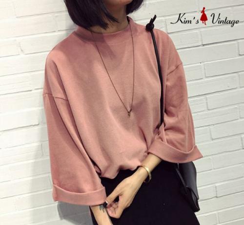 K Deal - Ao len tay lung cao cap Kim's Vintage