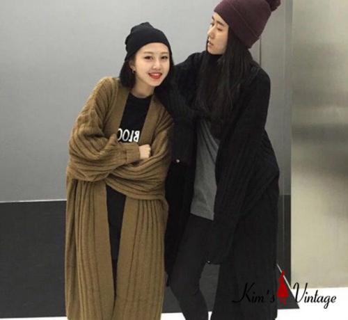 K Deal - Ao len dai tay Kim's Vintage