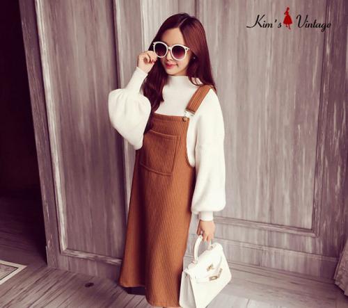 Yếm len thời trang Kim's Vintage