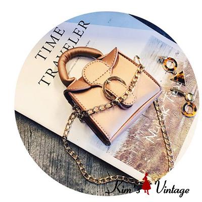 Túi đeo chéo dây kim loại Kim's Vintage