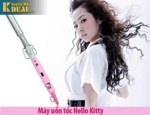 Máy uốn tóc Hello Kitty - 1 - Sức khỏe và làm đẹp