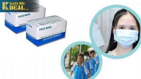 Combo 2 hộp khẩu trang y tế Face Mask - Đồ Dùng Cá Nhân