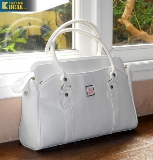 Túi xách da kiểu dáng GUCCI