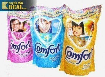 Nước Xả Vải Comfort 650ml _Thái Lan