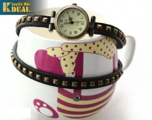Đồng hồ dây da thời trang