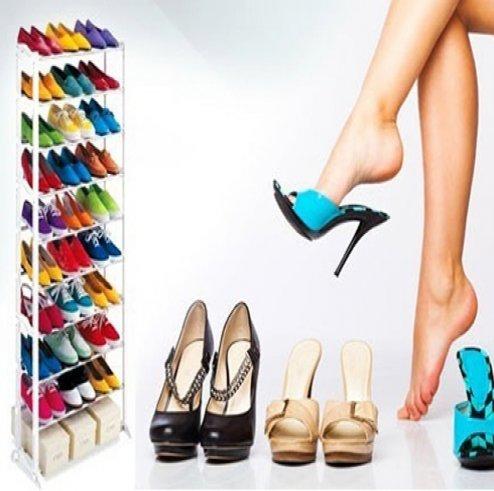 Kệ giày 10 tầng đa năng giá rẻ chỉ 132.000 vnđ.tiện dụng và gọn gàng cho ngôi nhà của bạn .