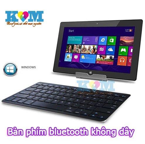 Bàn phím Bluetooth 3.0 không dây giá rẻ chỉ 250.000 vnđ. Phím wireless keyboard kết nối Iphone,ipad...chỉ có tại Khuyenmaigiare.vn