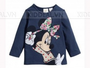 Kid Deal - Ao thun be gai H&M - A81 (10 - 14 kg)