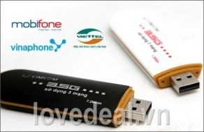 Love Deal - Usb 3G Cimcom chinh hang