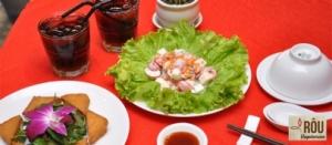 Mizutiki - Combo mon chay tai Nha hang Chay Rou