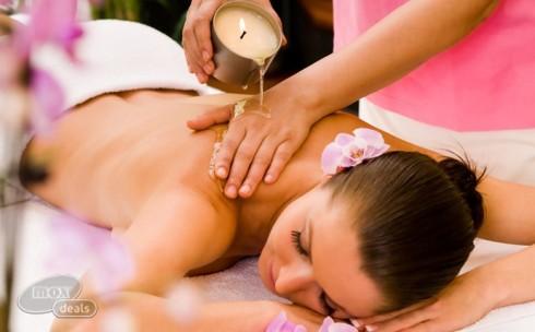 Massage Nến Kết Hợp Với Đá ...