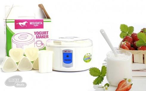 Máy Làm Sữa Chua Misushita 6 ...