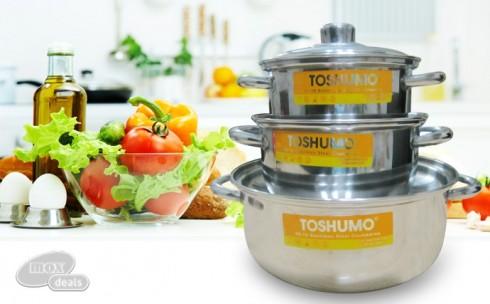 3 Nồi Inox Toshumo