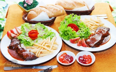 2 Phần Bò Beefsteak - Cafe ...