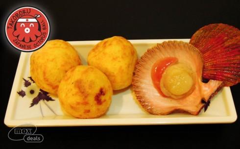 Bánh Bạch Tuộc Takoboru + Trà ...