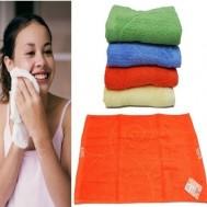 Combo 4 khăn mặt Elpis 100% cotton mềm mịn