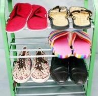 Kệ để giày dép đa năng inox 4 tầng