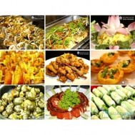 Buffet trưa - Nhà hàng hải sản Phú Khang