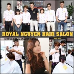 Gội, Sấy, Uốn/Nhuộm/Ép đẳng cấp Royal Nguyen Salon