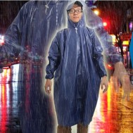 Áo mưa vải nhựa kín 2 bên hông