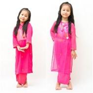 Điệu đà cùng bé với bộ áo dài thời trang