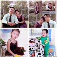 Chụp ảnh gia đình tại Giáng Hương Studio