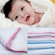 Combo 3 khăn tắm cho trẻ loại 4 lớp