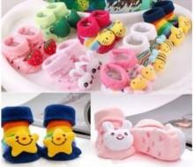 Combo 2 đôi tất 3D dạng giầy cho bé từ 1-3 tuổi
