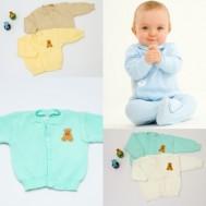 Combo 2 áo len cho bé sơ sinh