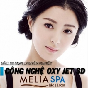Điều trị mụn hiệu quả CN Oxy Jet 3D tại Melia Spa