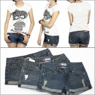 Quần short jean cho nữ