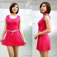 Váy xòe ba lỗ gợi cảm