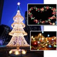 Bộ 02 dây đèn LED trang trí Noel và ngày Tết