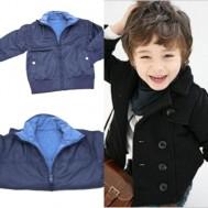 Áo khoác ấm áp cho bé trai