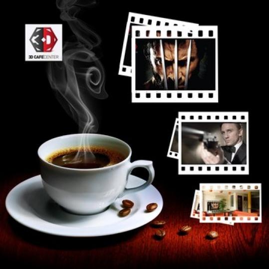 Thế giới phim hấp dẫn cho 2 người -3D Cafe Center