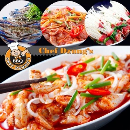 Buffet Lẩu Nướng Chef Dzung's đẳng cấp hàng đầu