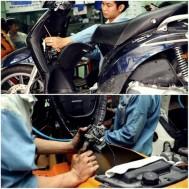 Bảo dưỡng Xe ga và Xe số Hoàng Anh Motor