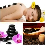 Massage body đá nóng