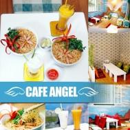 Voucher cafe Angel cho 02 người
