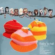 Mũ len đáng yêu cho bé