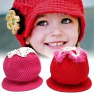 Nón len tròn, đính hoa hoặc ngôi sao đáng yêu - Thời Trang Trẻ Em