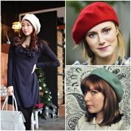 Mũ nồi dạ phong cách cho bạn gái
