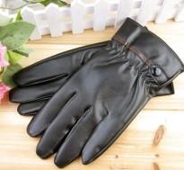 Găng tay da thời trang nam
