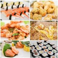 Buffet sushi và hải sản nướng