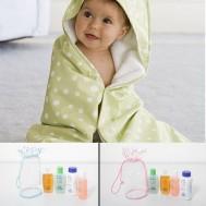 Dầu gội, sữa tắm, nước hoa, phấn thơm cho bé