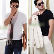 Bộ 2 áo thun body nam, cổ tim - 2 - Thời Trang Nam - Thời Trang Nam