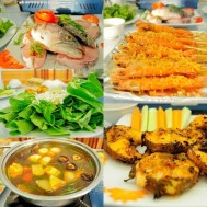 Set ăn Lẩu cá quả NH Chả cá Hà Nội